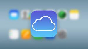 apple iCloud login web