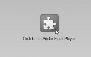 problema attivare flash browser