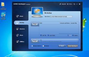 assegnazione nome backup windows