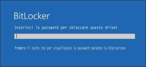 bitlocker windows10 sicurezza dati attivare