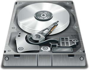 icona hard disk backup