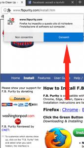 fb purify estensione facebook installazione