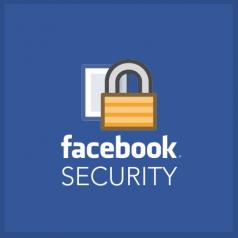 sicurezza su facebook icona