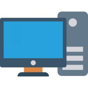 icona computer fisso