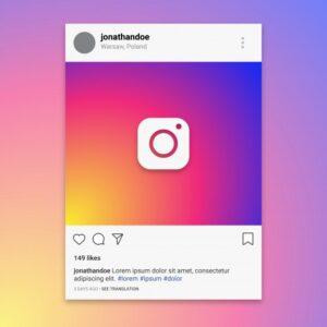 instagram profilo layout esempio