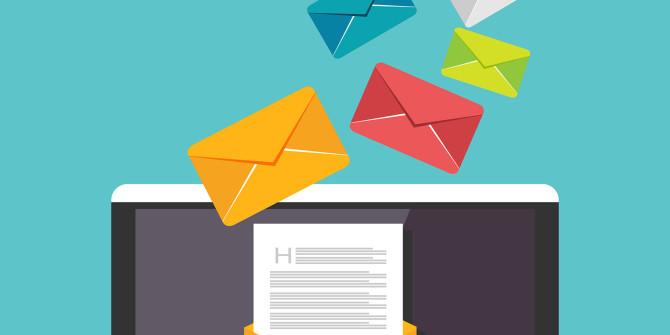 buste lettere contenuto pesante schermo pc