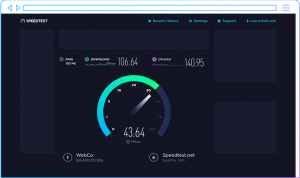 speed test adsl ookla