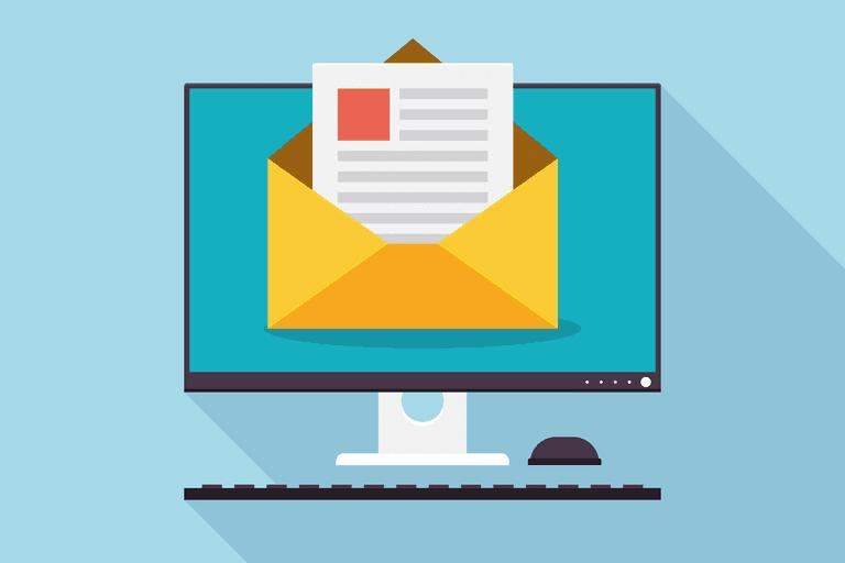 configurazione casella mail computer busta