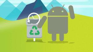 svuotare cache android cestino google