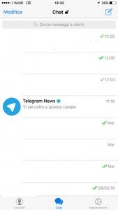 doppia spunta su telegram