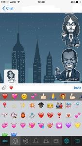 emoji e stickers in telegram